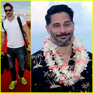 Joe Manganiello Gets Lei'd Upon Arrival in Hawaii!
