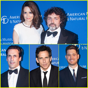 Jon Hamm, Tina Fey & Ben Stiller Put On Their Best For American Museum Of Natural History Gala!