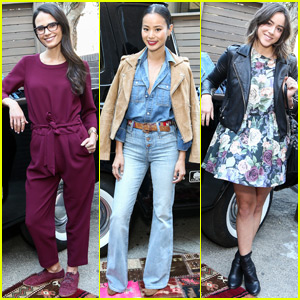 Jordana Brewster & Jamie Chung Recycle Jeans With Madewell