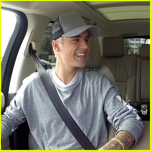 Justin Bieber Takes James Corden Shopping for New 'Carpool Karaoke' Segment! (Video)