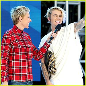 Justin Bieber Performs 'Purpose' Concert on 'Ellen' - Watch Now!
