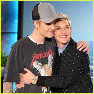Justin Bieber Returns to 'Ellen,' Talks Full Frontal Pics & Selena Gomez (Video)