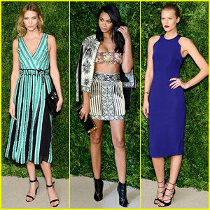 Karlie Kloss & Chanel Iman Show Off Their Style At CFDA/Vogue Fashion Fund Awards!