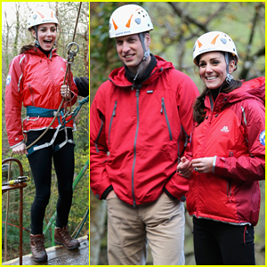 Kate Middleton & Prince William Get Adventurous at Outdoor Education Centre in Capel Curig!