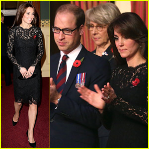 Kate Middleton Steps Out with Bespectacled Prince William