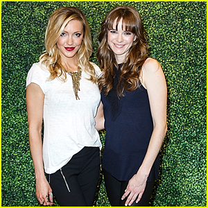 Katie Cassidy Danielle Panabaker Had A Girls Night Out In Vancouver