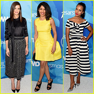 Katie Holmes & Kerry Washington Step Out in Style for WWD/Variety's Stylemakers Event