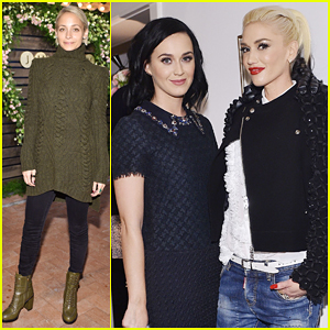 Katy Perry & Gwen Stefani Buddy Up At Jennifer Meyer's Exclusive RTW Collection Launch!