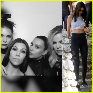 Kendall Jenner & Famous Friends Pose in Birthday Photo Booth
