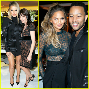 Khloe Kardashian & Chrissy Teigen Celebrate The Industry's Best At THR's Beauty Dinner!