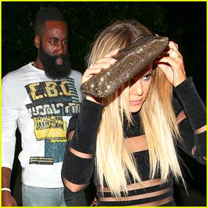 Khloe Kardashian & James Harden Step Out Together Again