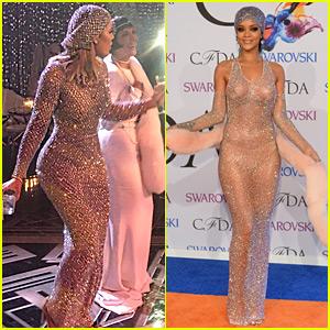 Khloe Kardashian's Gatsby Dress Was Inspired by Rihanna