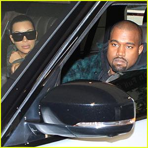 Kim Kardashian & Kanye West Celebrate Thanksgiving with Lamar Odom