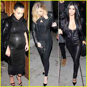 Kim, Kourtney, & Khloe Kardashian Celebrate Kendall Jenner's 20th Birthday with the Family!