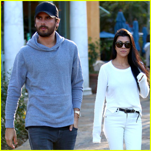 Kourtney Kardashian & Scott Disick Reunite for Friendly Lunch