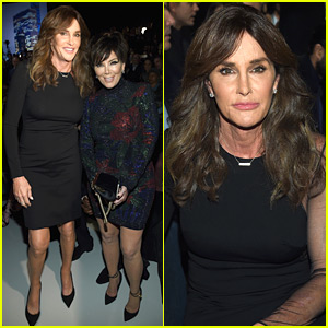 Kris & Caitlyn Jenner Support Kendall at Victoria's Secret Fashion Show 2015!