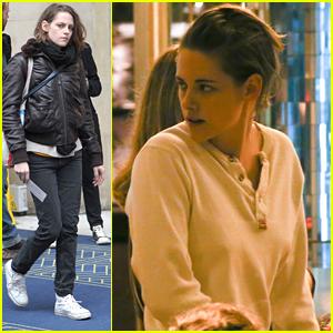 Kristen Stewart Takes Over A Cafe For 'Personal Shopper' Night Scenes