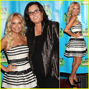 Kristin Chenoweth Is Honoree At Rosie O'Donnell's Theater Kids Gala 2015!