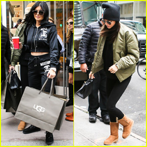 Kylie & Kendall Jenner Shop Before 'KUWTK' Season Premiere