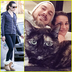 Lea Michele Shares a Cute Selfie with Matthew Paetz on Thanksgiving!