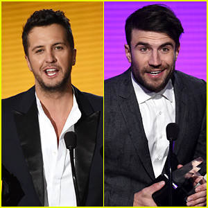 Luke Bryan & Sam Hunt Represent Country at AMAs 2015!