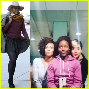 Lupita Nyong'o Posts Backstage Pic From Her Play 'Eclipsed'