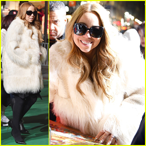 Mariah Carey Teases Her Holiday Movie 'A Christmas Melody' - Watch Clip Here!