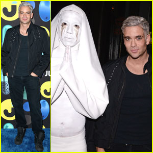Mark Salling Dresses as Jared Eng at the JJ Halloween Party!