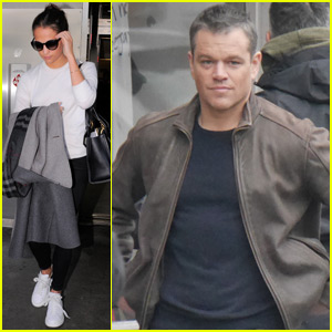 Matt Damon Gets Back into Action as New 'Jason Bourne' Movie Continues Filming