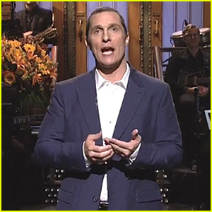 Matthew McConaughey Tells the 'Alright, Alright, Alright' Origin Story for 'SNL' Monologue