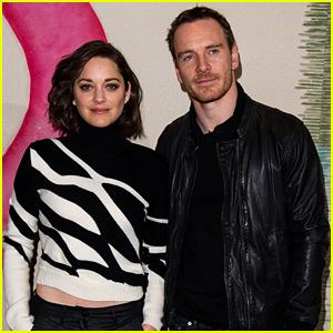 Michael Fassbender & Marion Cotillard Begin Promoting 'Macbeth' Together!