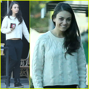 Mila Kunis Gets Uninvited House Visits from Jennifer Lawrence!