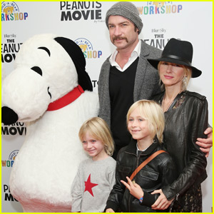 Naomi Watts & Liev Schreiber Bring Their Boys to 'The Peanuts Movie' Screening in NYC