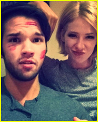 iCarly's Nathan Kress & New Wife London Cancel Honeymoon