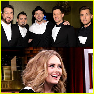 N'Sync Members React to Adele Breaking Their Sales Record