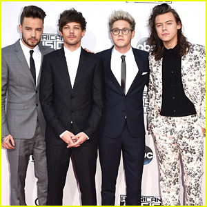 One Direction Guys Arrive at AMAs 2015!