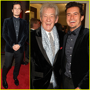 Orlando Bloom Helps Raise £100,000 At Park Theatre Gala!