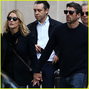 Patrick Dempsey & Estranged Wife Jillian Hold Hands in Paris