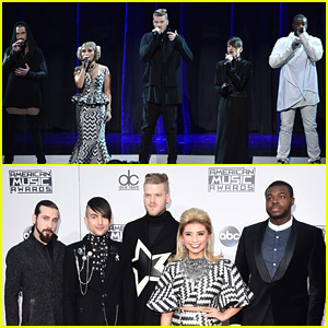 Pentatonix Pays Amazing Tribute to 'Star Wars' at AMAs 2015 - Watch Now!