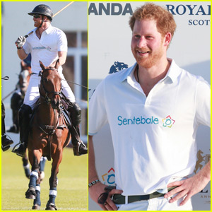Prince Harry Takes Tumble During South African Polo Match