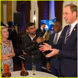 Prince William Honors Homeless Youth at Centrepoint Awards