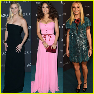 Reese Witherspoon & Gwyneth Paltrow Take The Blue Carpet at the LACMA Gala 2015