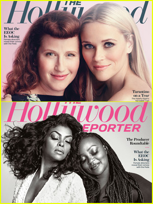 Reese Witherspoon & Taraji P. Henson Cover THR's Beauty Issue