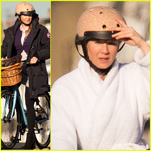 Ed Sheeran Joins Renee Zellweger on Set of 'Bridget Jones's Baby'