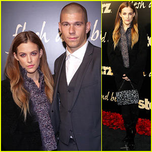 Mad Max's Riley Keough & Husband Ben Smith-Petersen Support Starz's New Show!