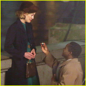 Rosamund Pike Gets a Ring From Co-Star David Oyelowo