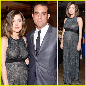 Rose Byrne Shows Off Baby Bump At Bring Change To Mind Charity Gala!