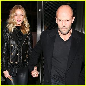 Rosie Huntington-Whiteley & Jason Statham Have a Hot Date Night