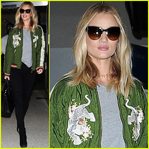 Rosie Huntington-Whiteley Teases a Brand New Project!
