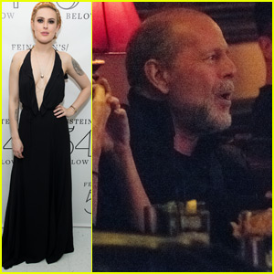 Rumer Willis Gets Support From Dad Bruce at NYC Concert